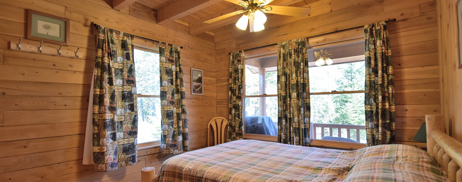 Prong Pond Rental Cabins in Maine